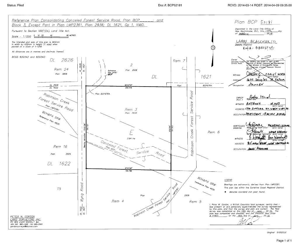 Block 3 Byng Rd Roberts Creek_site survey