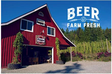 local beer farm sunshine coast bc