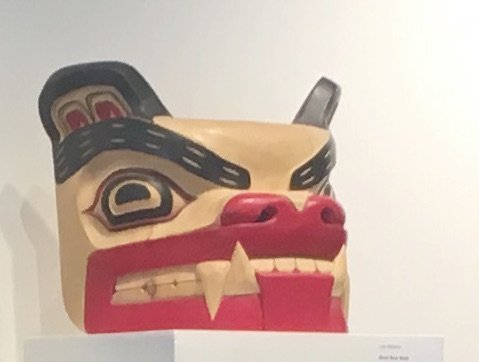 Squamish Nation Bear Carving at GPAG