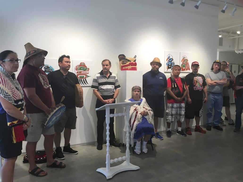 Squamish Nation Elders and Artists Gibsons Public Art Gallery