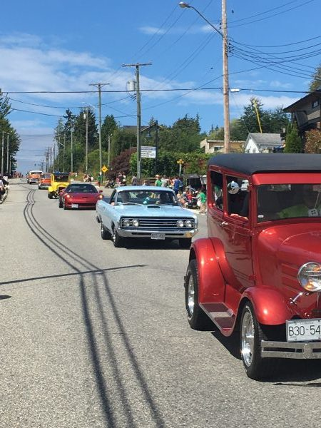 classic car parade gibsons