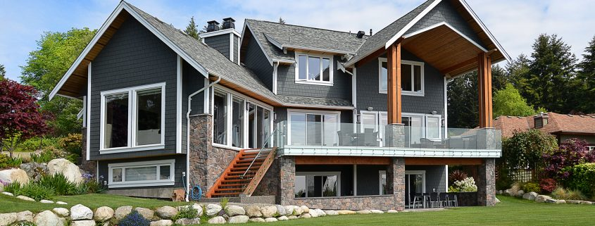 58 clark rd gibsons luxury waterfront home real estate in Gibsons British Columbia