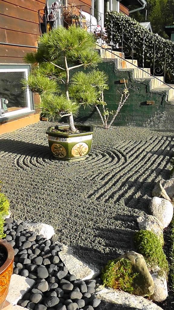 Zen garden Gibsons BC