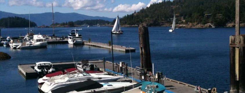 boats in Pender Harbour Sunshine Coast BC