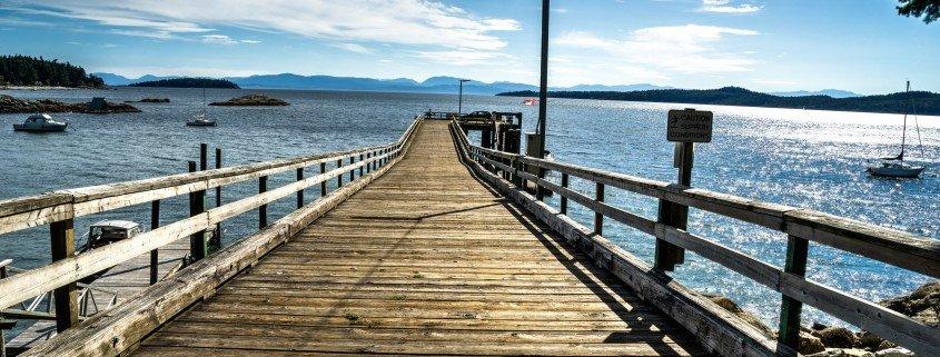 Halfmoon Bay harbour, Sunshine coast, British Columbia