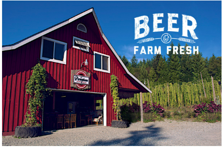 local beer farm sunshine coast bc
