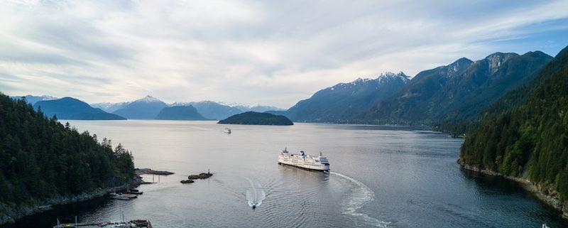 ferry boat to Sunshine Coast
